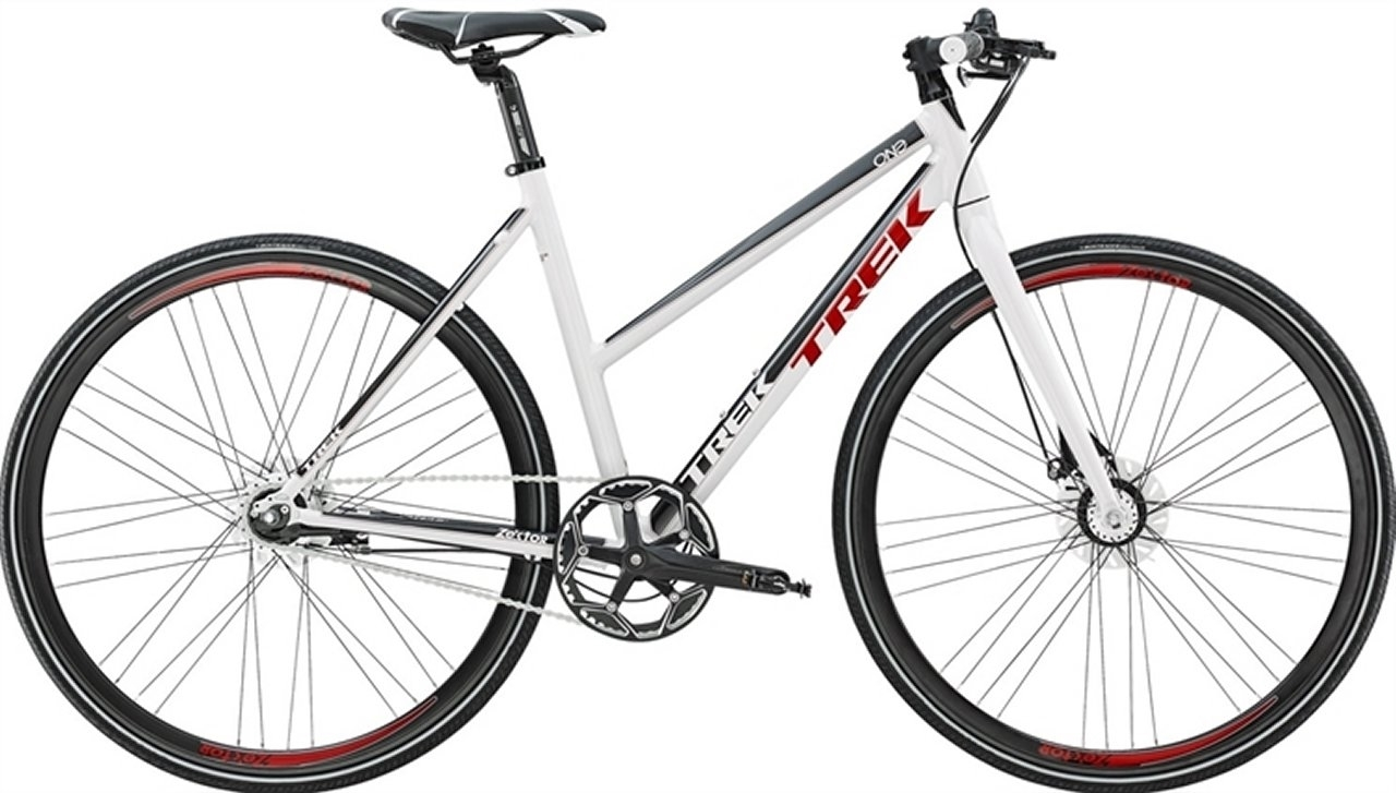 Trek Zektor 1 Dame Hvid - 2015 Dame citybike cykel SUPER-TILBUD