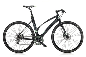 Avenue Airbase 10 H-Disc Sort<BR> - 2015 Dame sports cykel