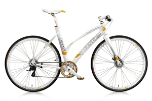 Avenue Airbase 9R Hvid<BR> - 2015 Dame sports cykel