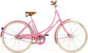 Pashley Poppy Pink<BR>- 26&quot;/28&quot; Klassisk damecykel