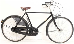 Pashley Roadster 26 Classic sort<BR> - 26&quot; Klassisk herrecykel