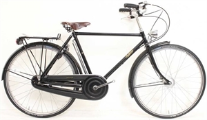 "Pashley Roadster 26 Sovereign sort <BR>- 26"" Klassisk herrecykel"